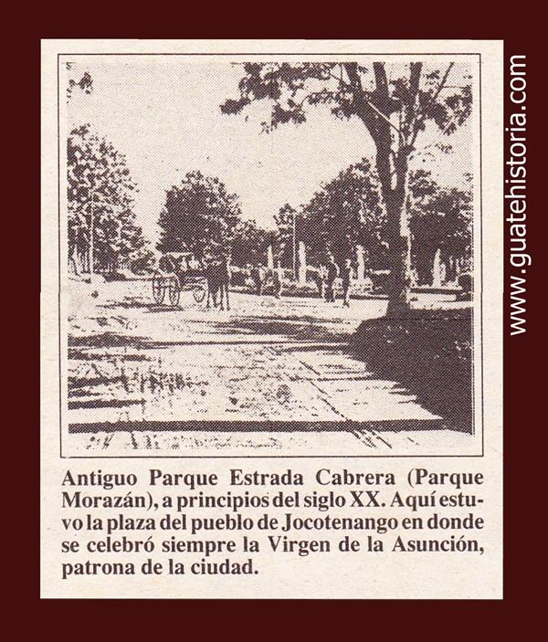 ANTIGUO PARQUE ESTRADA CABRERA
