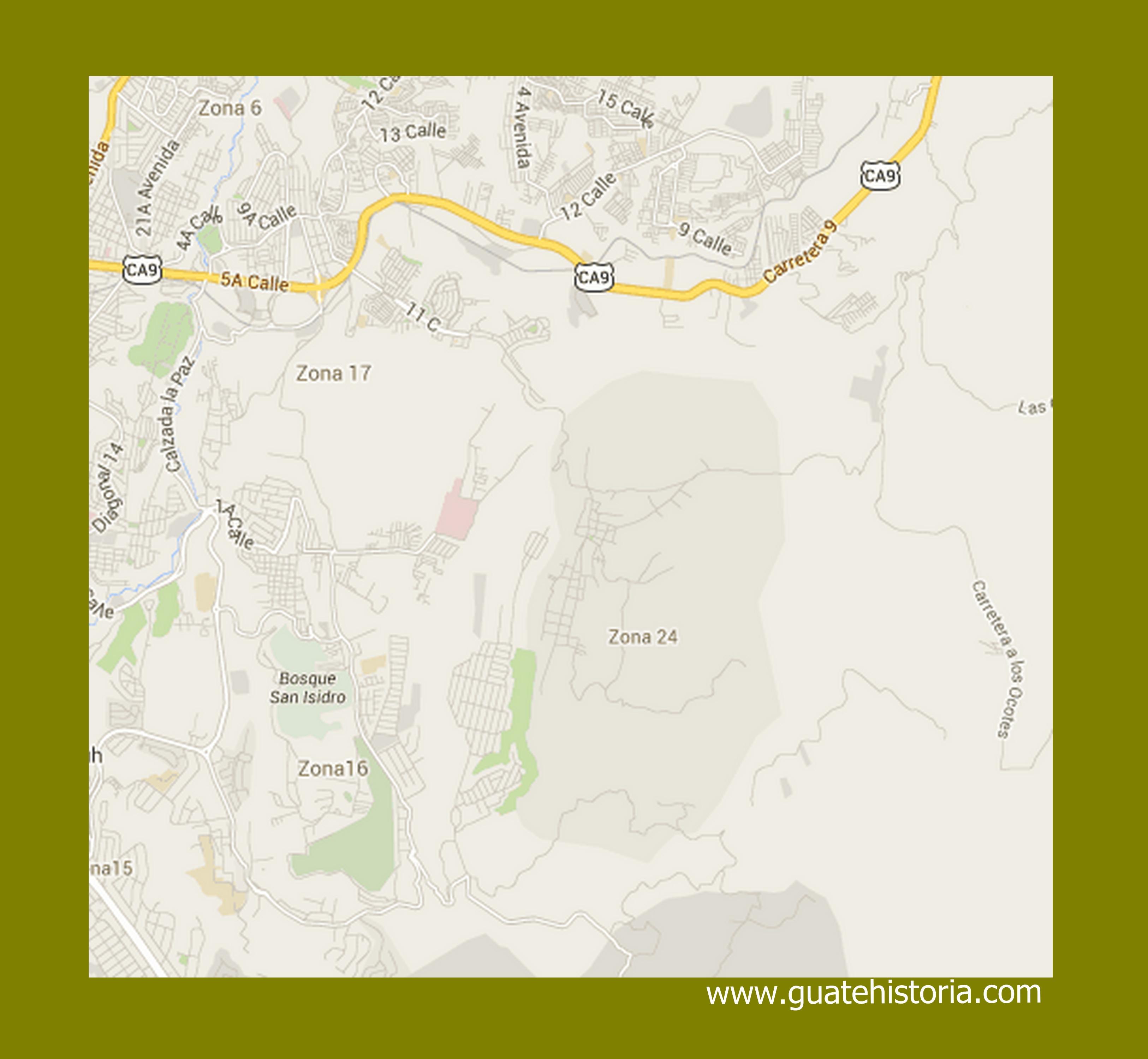 mapa canalitos