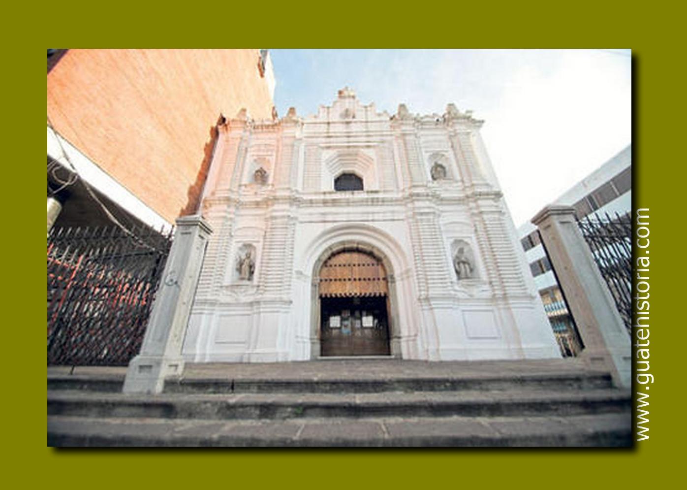 Templo de Capuchinas. Guatemala