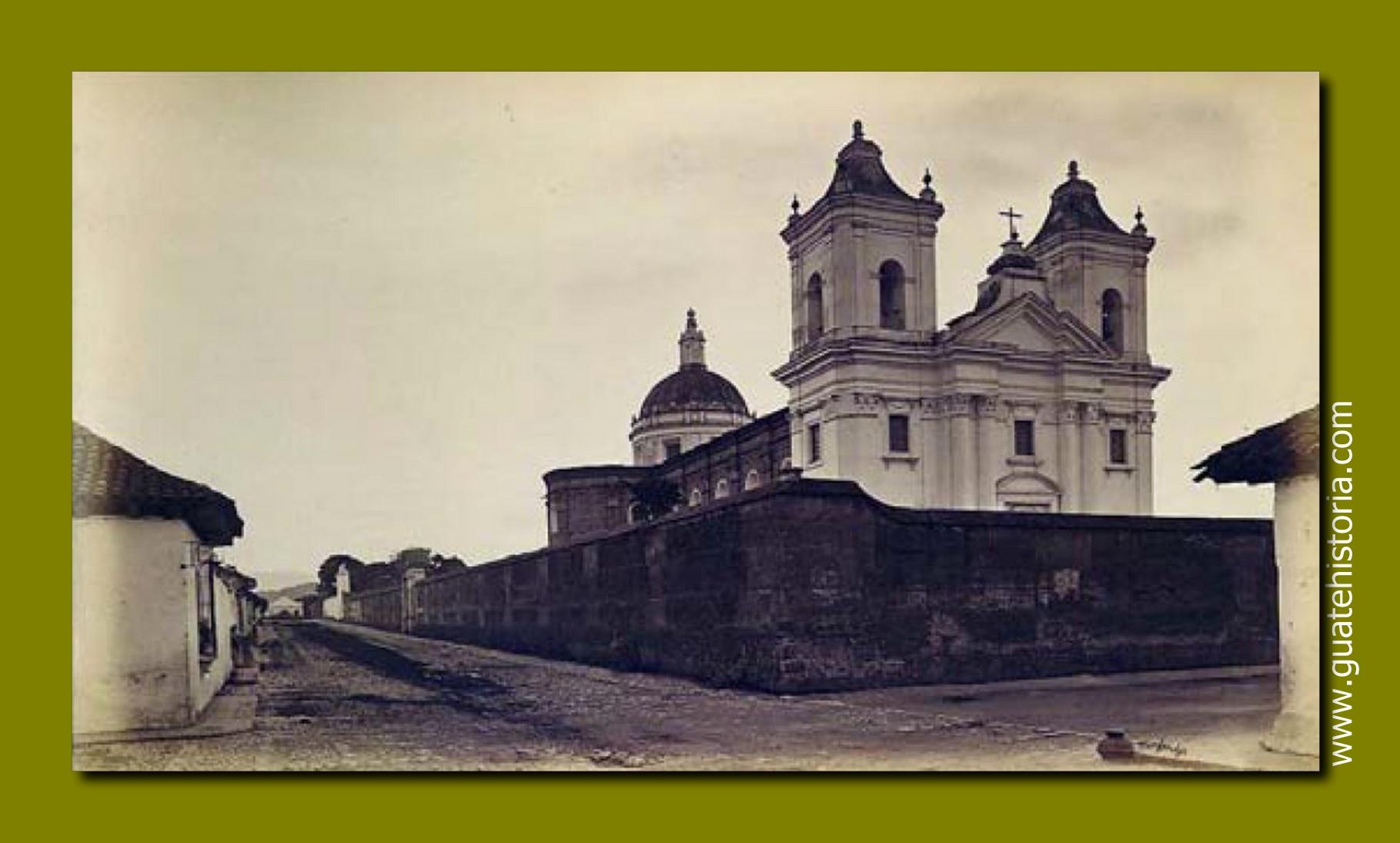 Templo de la Recolección Año 1875