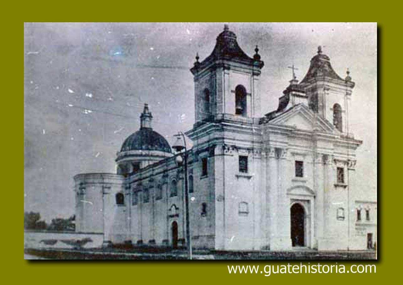 Templo de la Recolección Año 1917