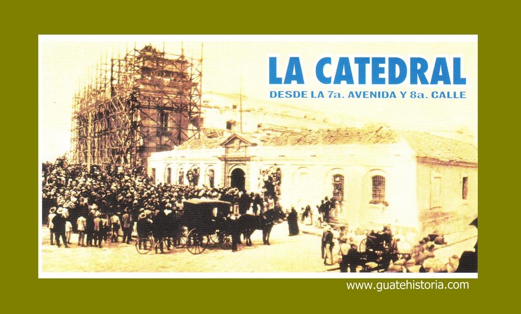 LA CATEDRAL EN CONSTRUCCIÓN